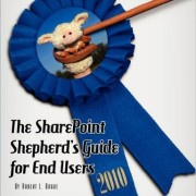 The SharePoint Shepherd's Guide for End Users: 2010 Book Cover