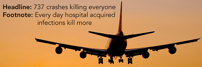Headline: 737 crashes killing everyone