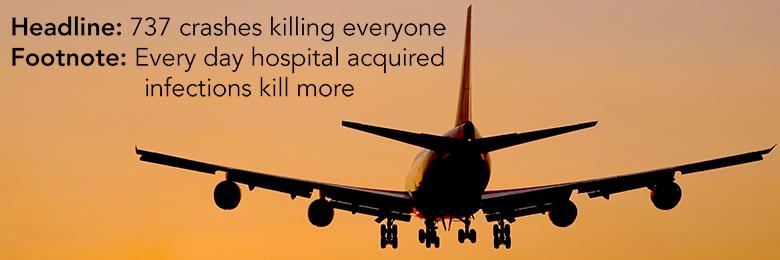 Headline: 737 crashes killing everyone
