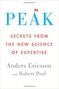 Peak: Secrets from the New Science of Expertise