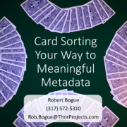 Card Sorting Your Way to Meaningful Metadata