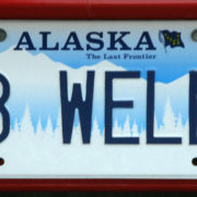 License plate B WELL