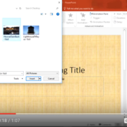 Quick Tip: PowerPoint: Image Background