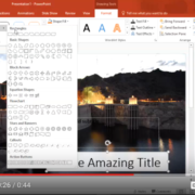 Quick Tip: PowerPoint: Change Shape